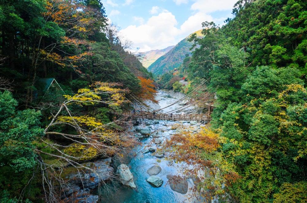 Shikoku, una de las islas japonesas más bellas