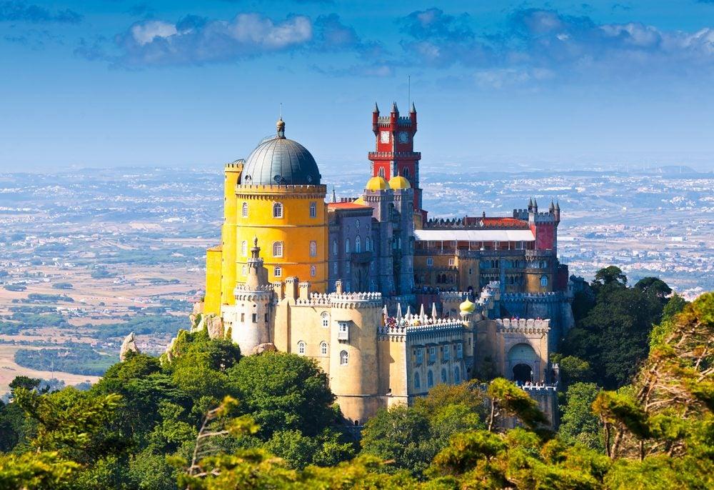 Pueblos y pequeñas ciudades de Portugal: Palacio da Pena