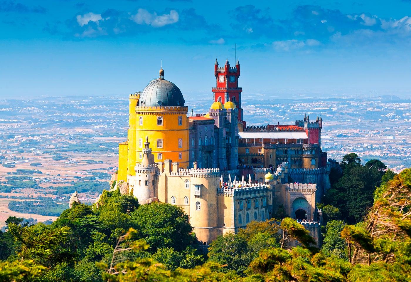 Palacio da Pena en Portugal