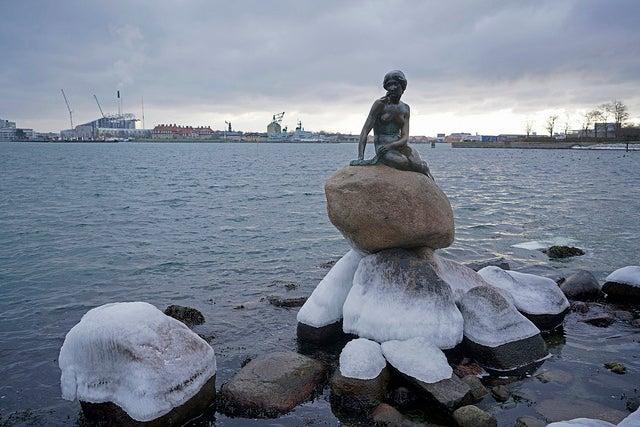 Paisajes de invierno, Copenhague