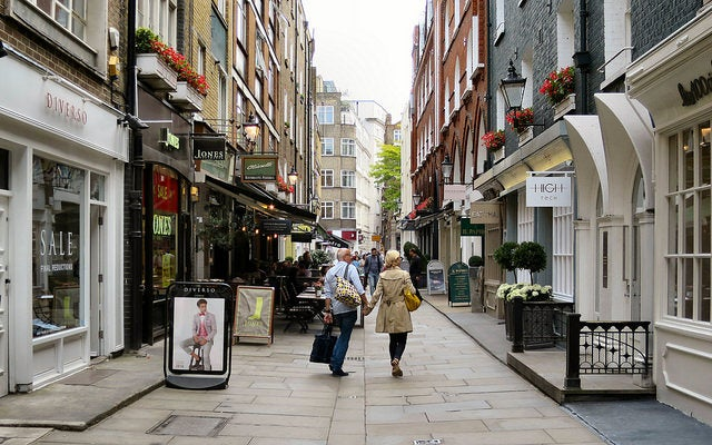 St Christopher's Place para una visita alternativa por Londres