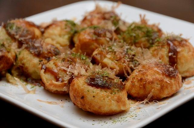 Takoyaki, plato de la gastronomía de Japón