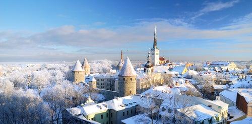 Tallin en Estonia