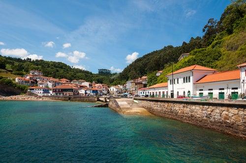Tazones, uno de los pueblos costeros de Asturias con encanto