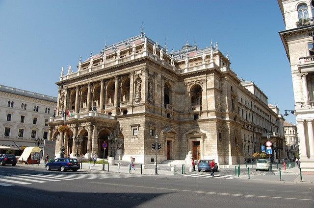 Barrios de Budapest Teatro Ópera