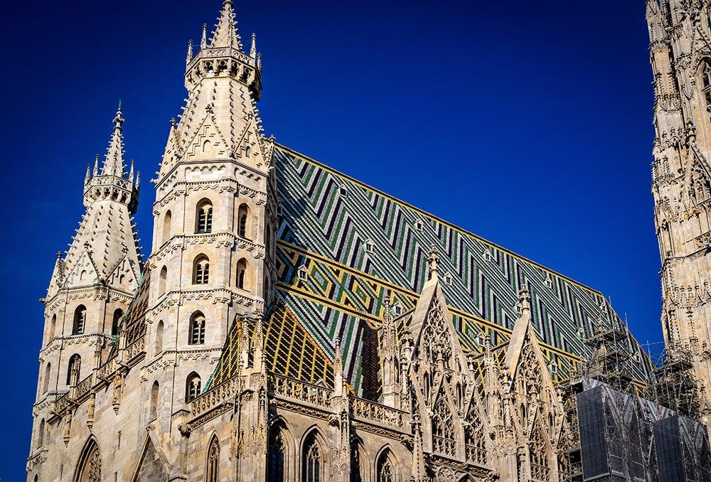 Tejado de la catedral de Viena