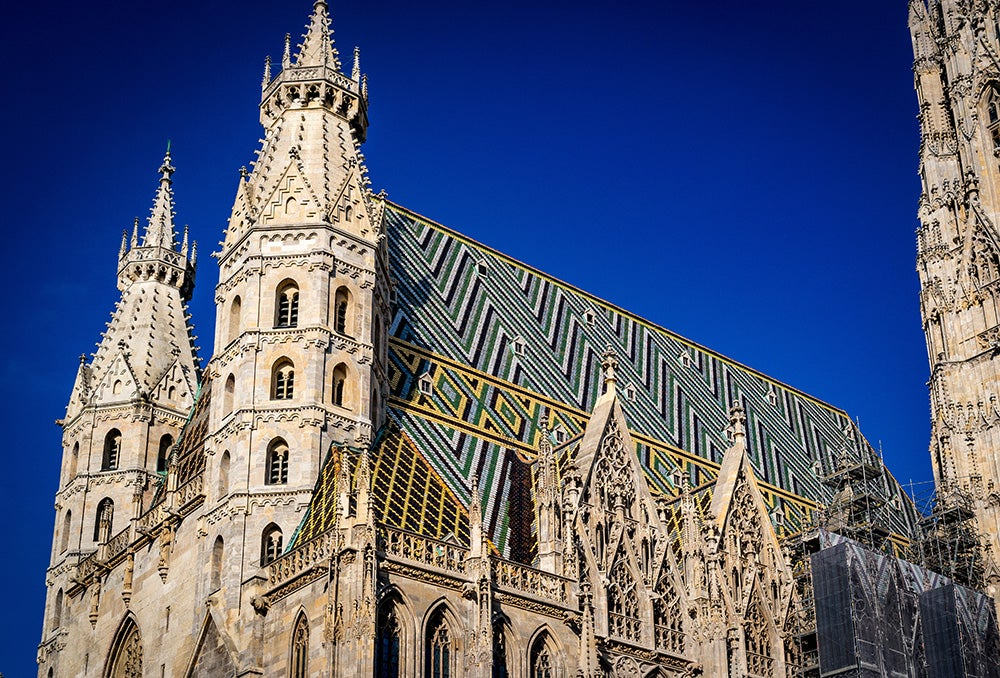 Fransk katedral i lagor