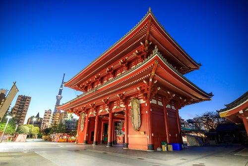Templo de Sensoji. uno de los lugares de Tokio que ver