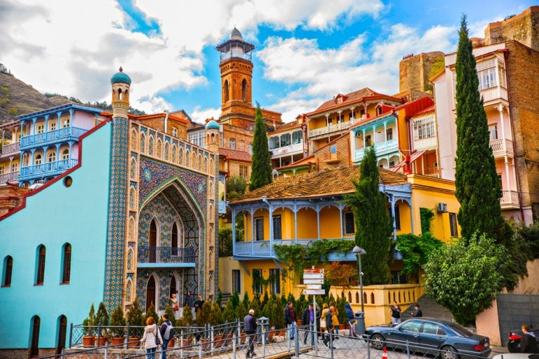 10 razones para viajar a Tiflis, la capital de Georgia