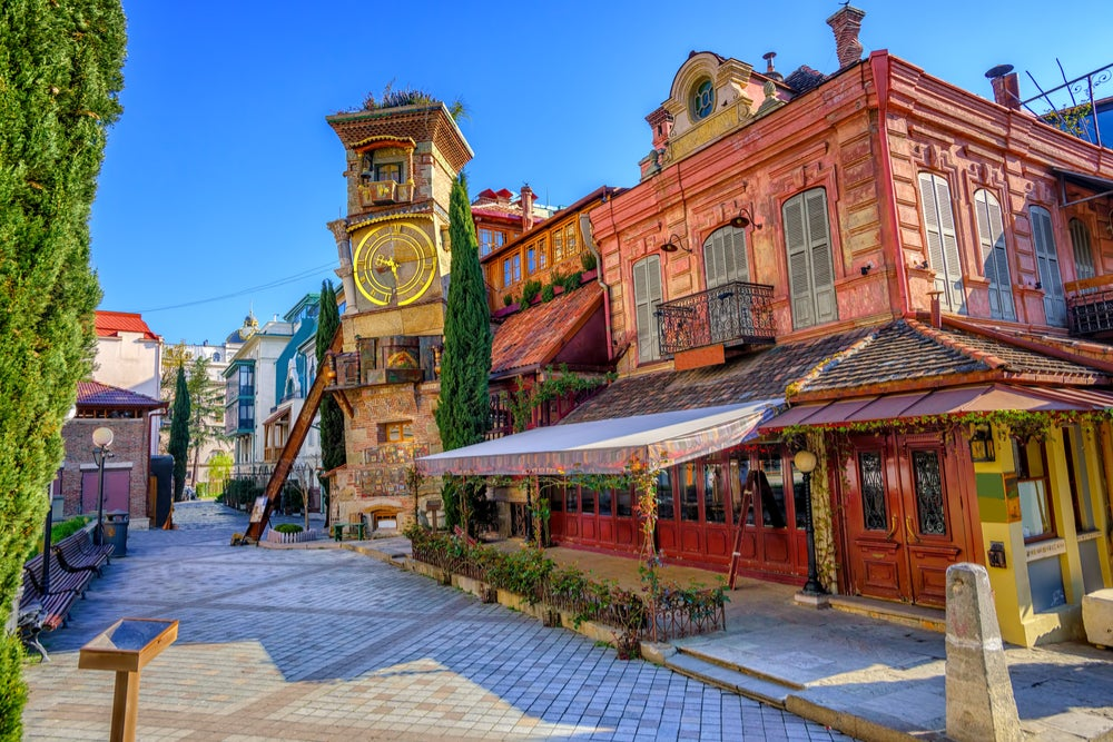 Torre del Reloj en Tiflis