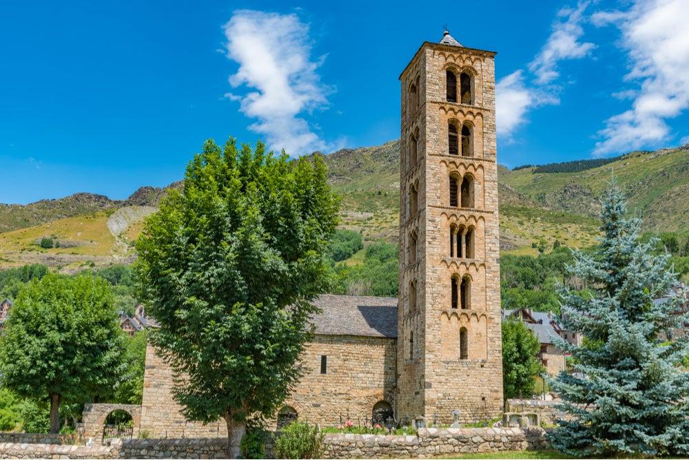 Sant Climent de Taüll, ejemplo del románico catalán