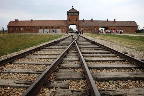 Vía del tren de Auschwitz-Birkenau