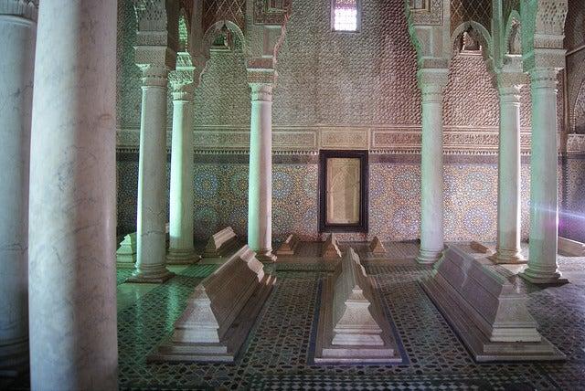 Tumbas Saadíes, una de las cosas que ver en Marrakech