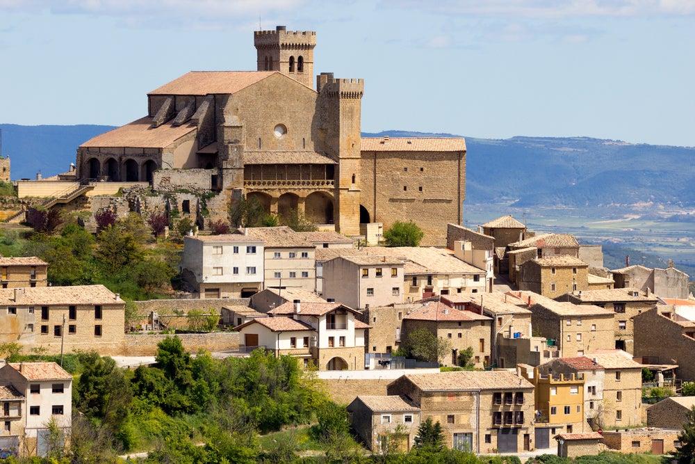 Visitamos la ciudad medieval de Ujué en Navarra