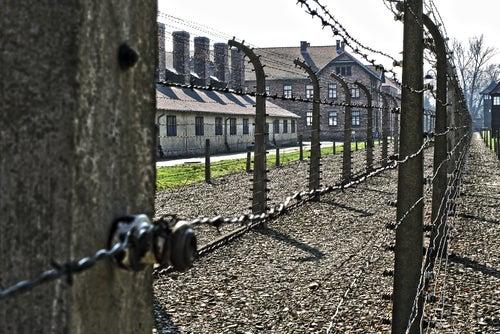 Valla de Auschwitz-Birkenau