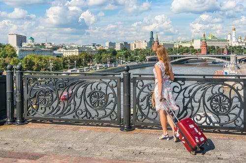 Viaejra con una maleta