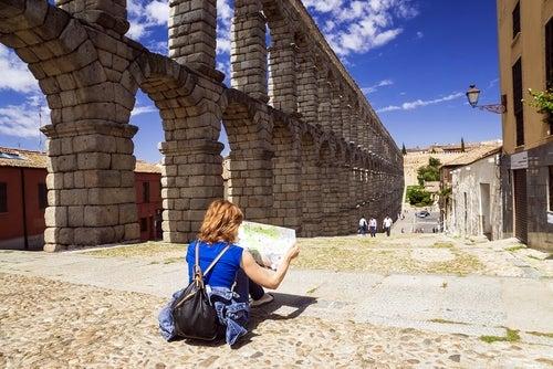 Viajera en Segovia