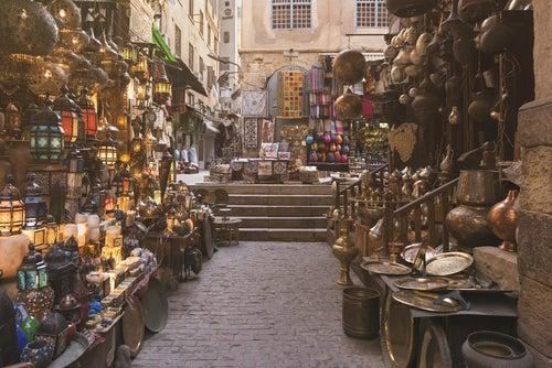 Zoco de El Cairo