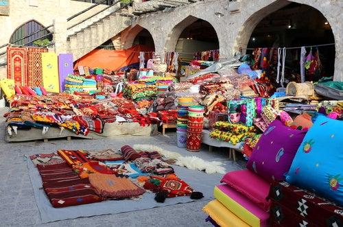 Los zocos, los famosos mercadillos tradicionales árabes