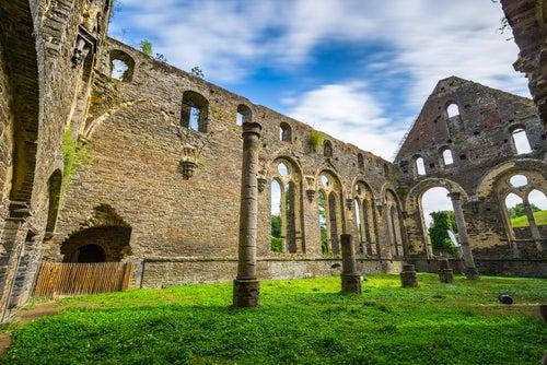 Abadía de Villiers en Bélgica