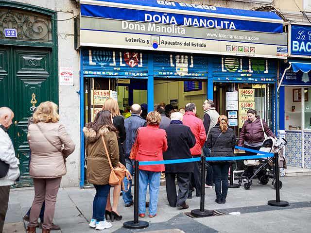 Doña Manolita, la administración de lotería más agraciada de España
