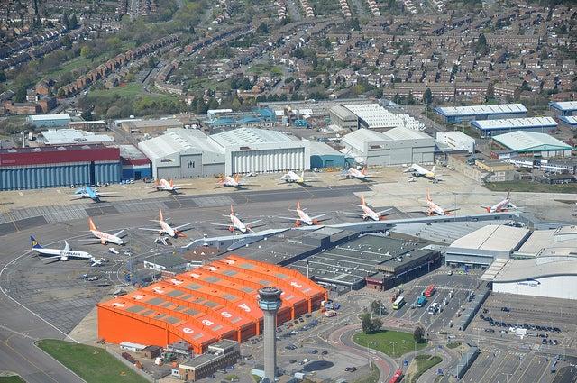 Aeropuerto de Luton en Londres
