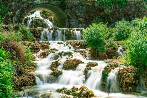 Cascada en Orbaneja del Castillo