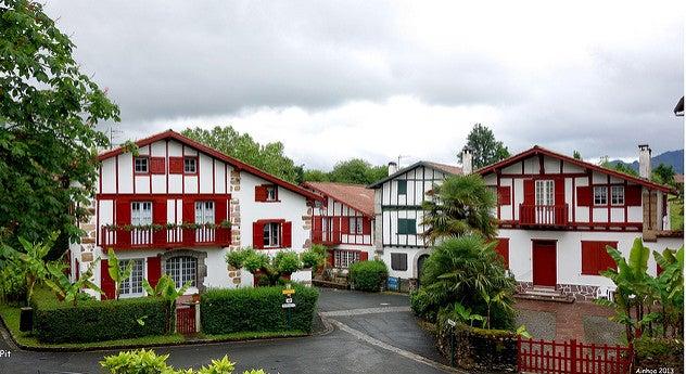 Ainhoa en el País Vasco Francés