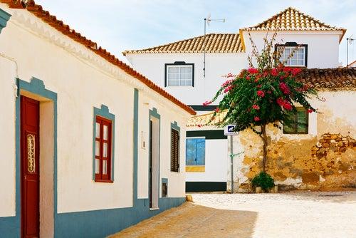 Calle del casco antiguo de Albufeira