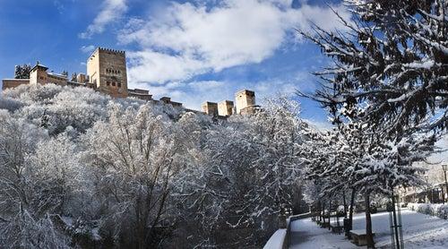 Invierno en la Alhambra