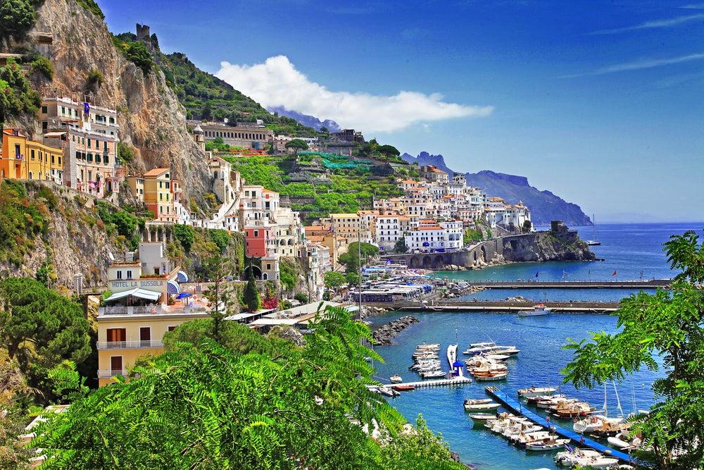 Amalfi, uno de los pueblos que miran al mar