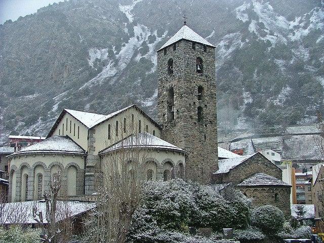Iglesia en Andorra la Vella