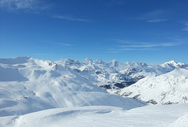 Visitamos la estación de esquí de Astún, en el Pirineo aragonés