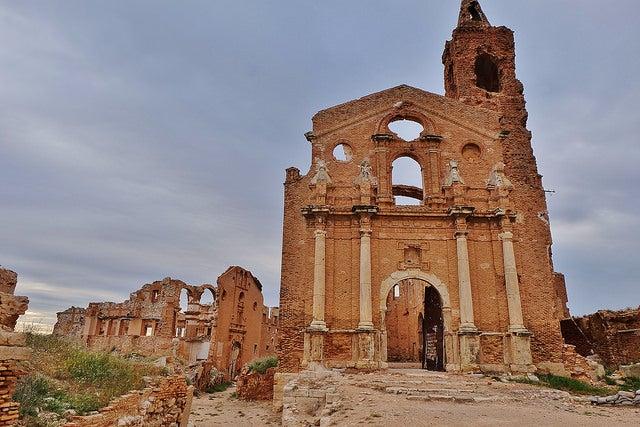 Belchite, un pueblo abandonado en España