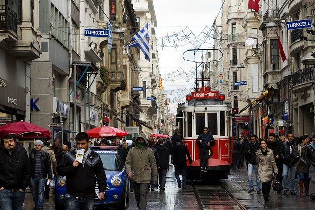 Beyoglu en Estambul