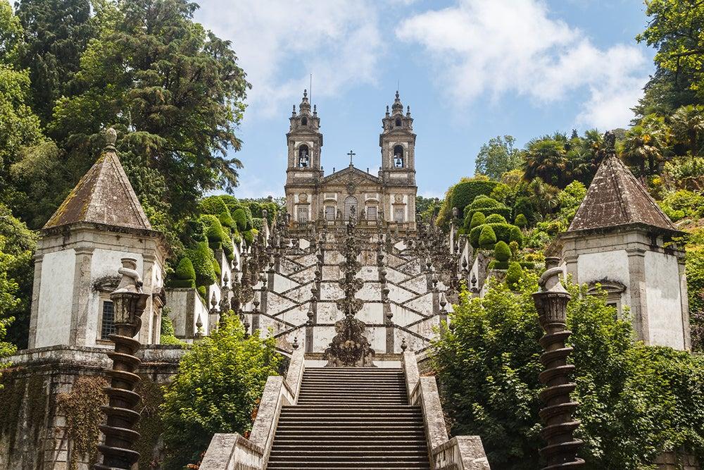 Escaleras muy especiales: Bom Jesus en Braga
