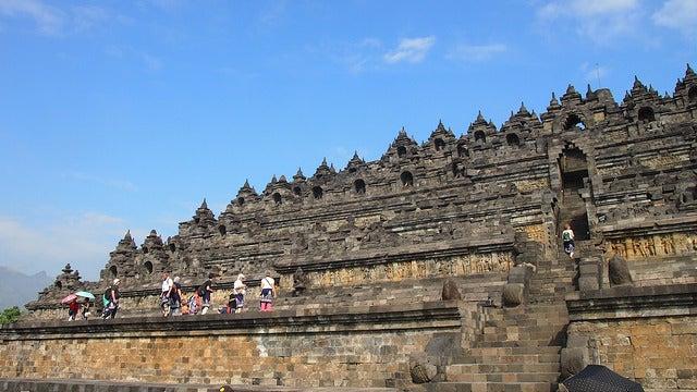 Pirámide de Borobudur