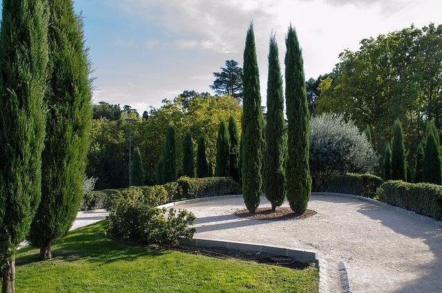 Bosque del Recuerdo en El Retiro de Madrid