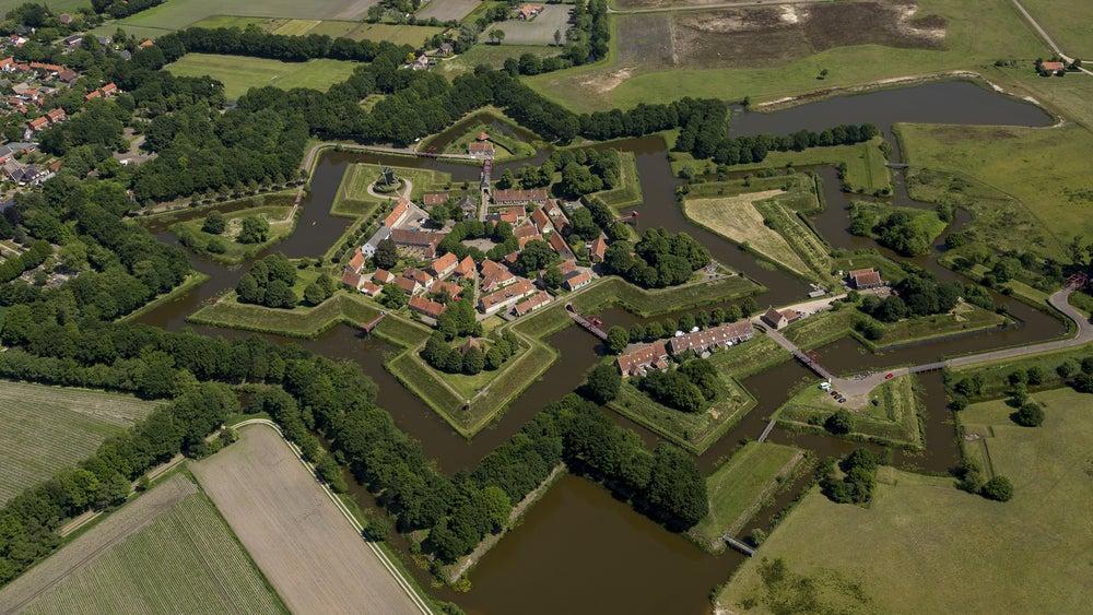 Bourtange, uno de l os pueblos de Europa más curiosos