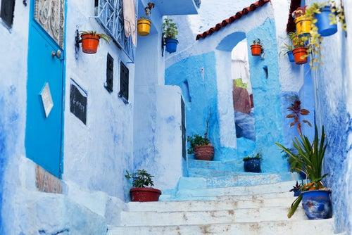 Chefchaouen en Marruecos