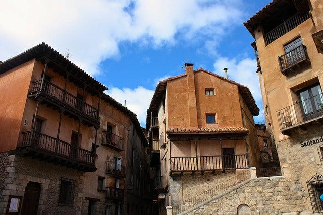 Calles de la ciudad medieval de Albarrracín