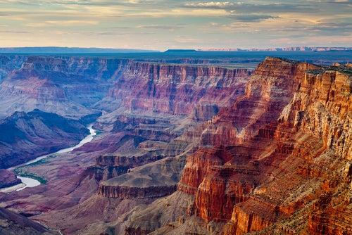 Cañón del Colorado, uno de los cañones más espectaculares