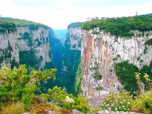 Cañón de Itambezinho en Brasil
