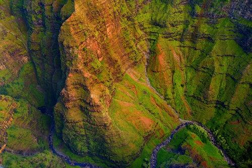 Cañón de Waimea en Hawaii