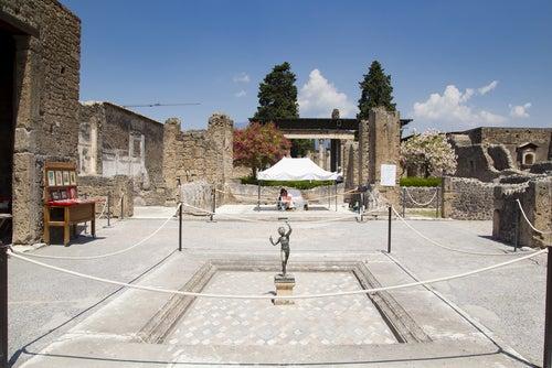 Casa del Fauno en Pompeya