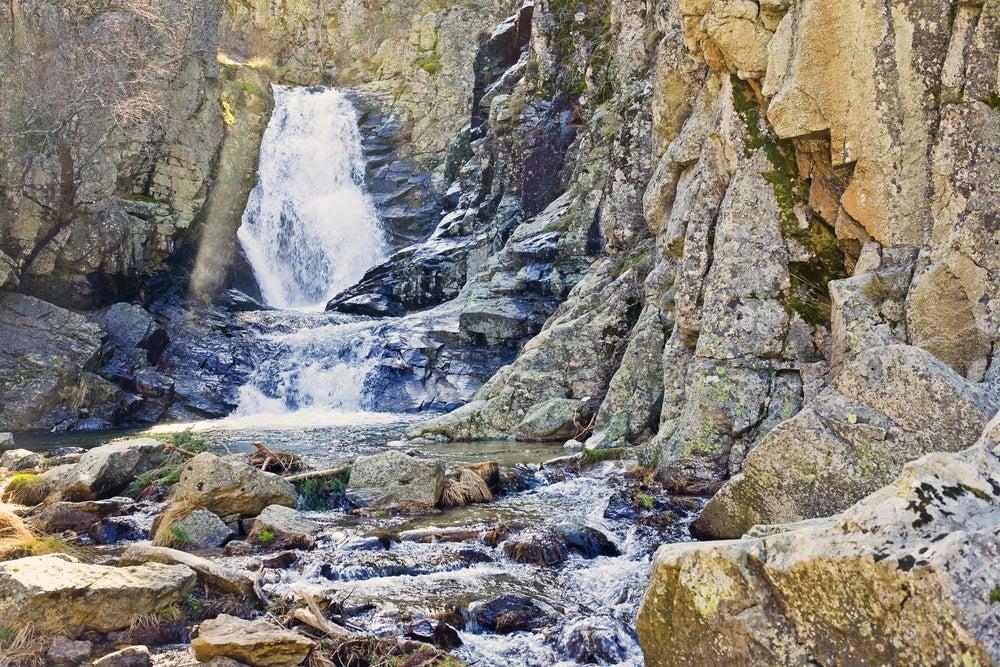 Cascada de Purgatorio en Rascafría