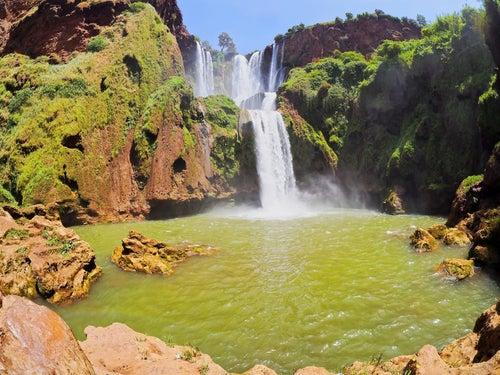 Cascadas de Ouzoud en Marruecos