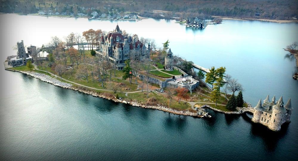 Castillo Boldt en Mil Islas en Canada