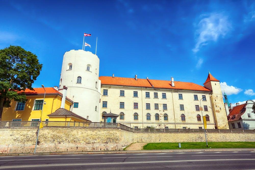 Castillo de Riga,capital de Letoni