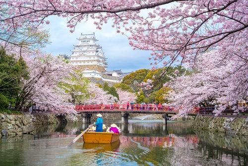 Castillo Himeji en Japón
